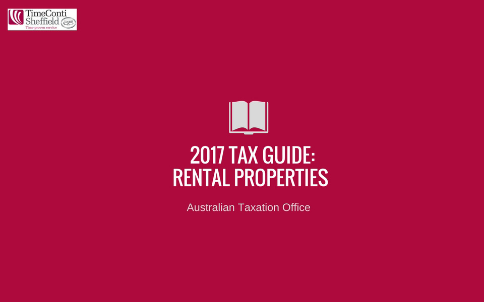 Rental Property 2017 Tax Guide