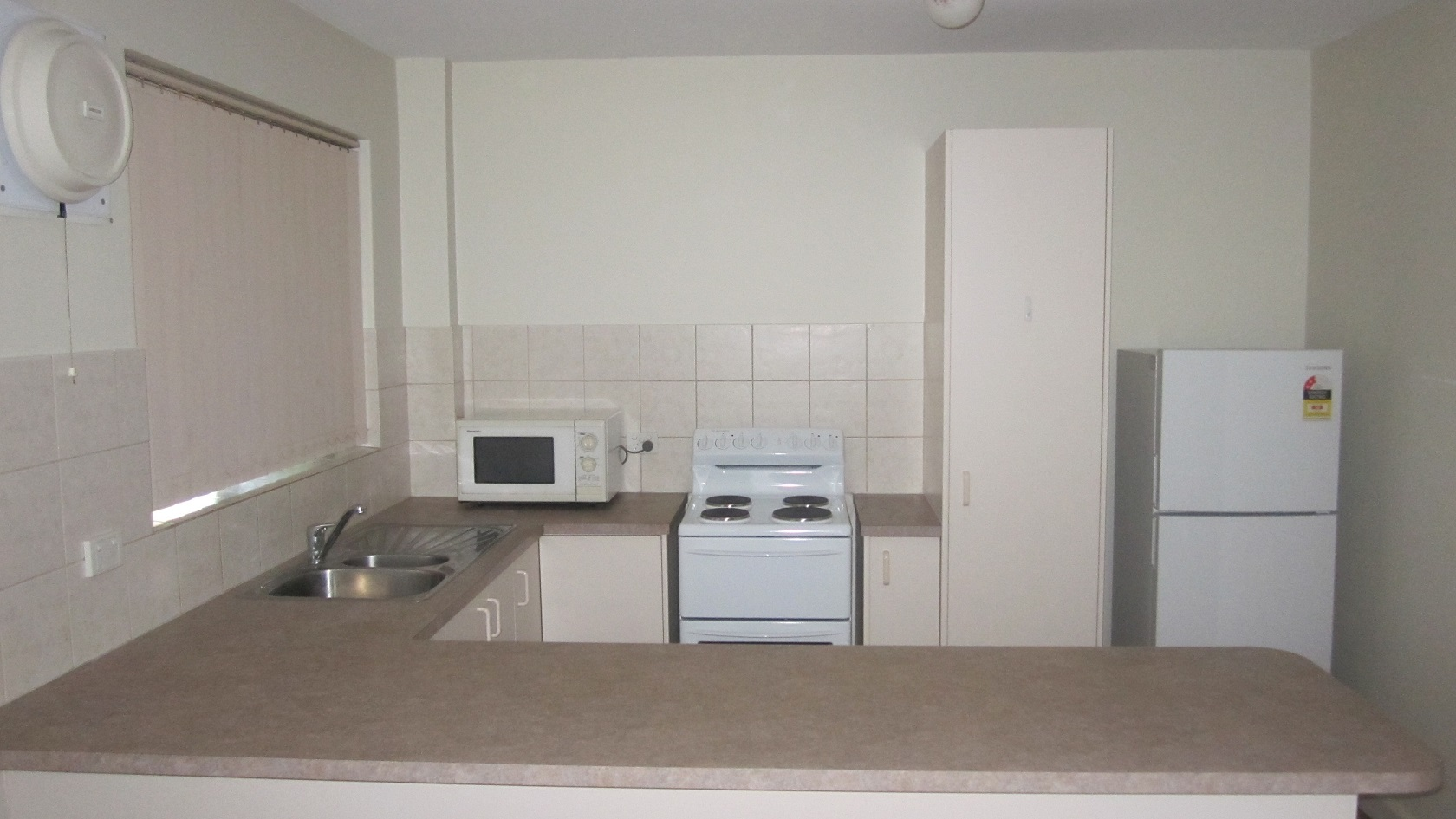 RECENTLY RENOVATED 2 X 1 FURNISHED UNIT IN SECURE COMPLEX!!