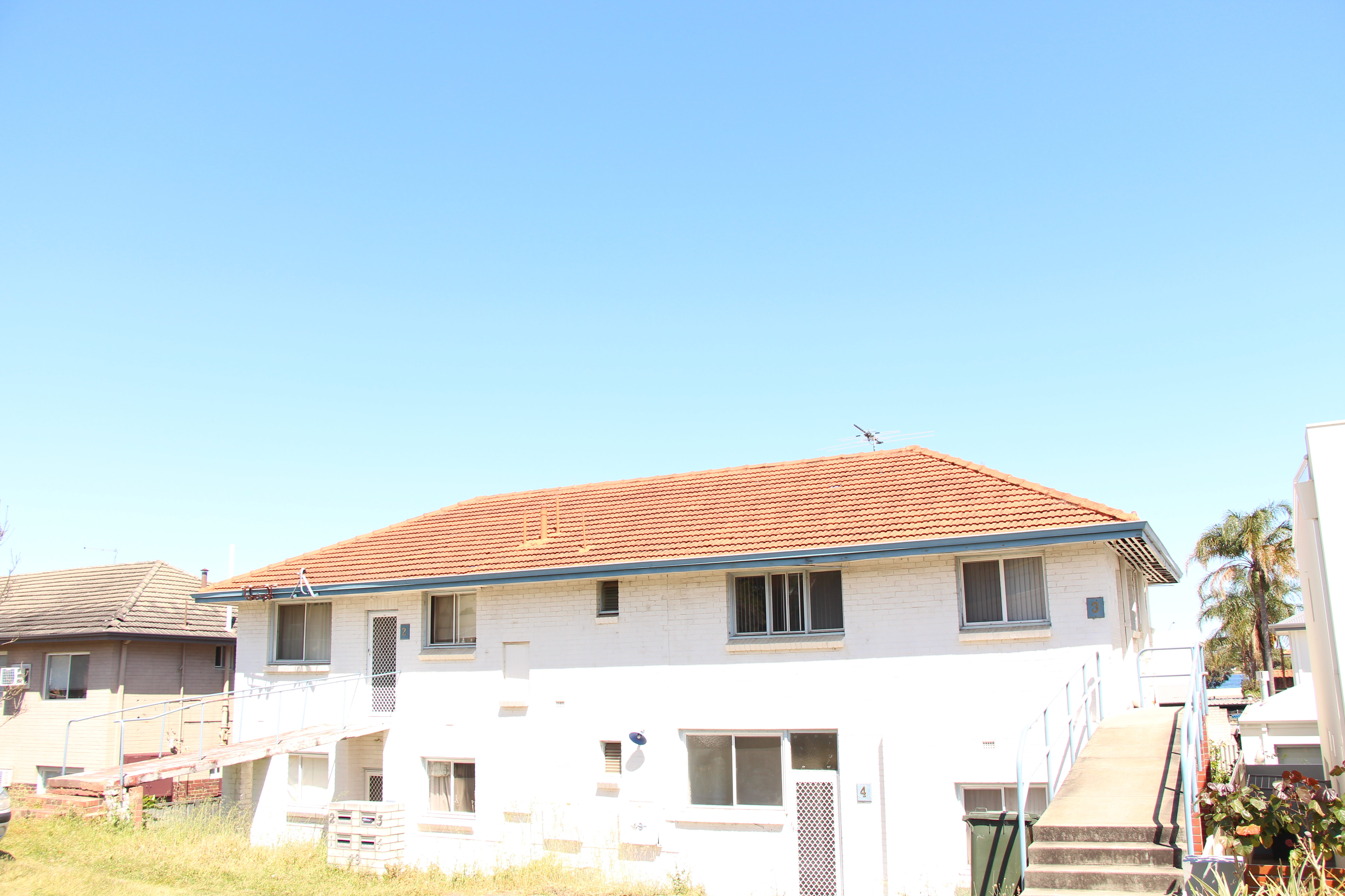 TWO BEDROOM UNIT WITH AIR CONDITIONING!